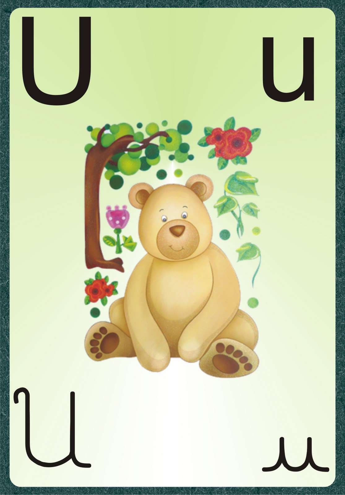 imagens de coisas com as letras do alfabeto para colorir