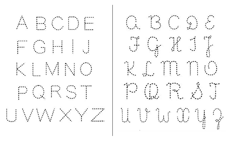 Alfabeto Para Imprimir Alfabeto